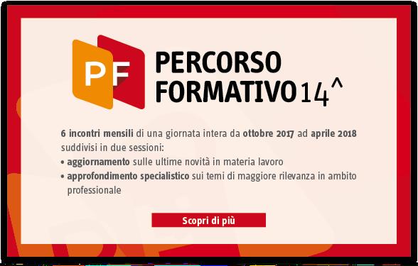 Percorso formativo 2017/2018