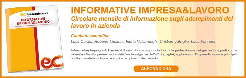Informative impresa&lavoro