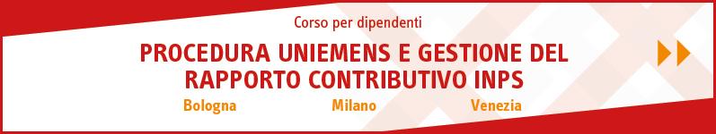 Procedura Uniemens e gestione del rapporto contributivo Inps