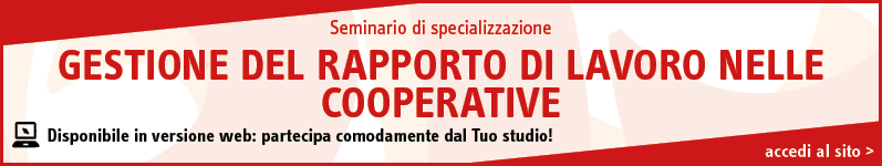 Gestione del rapporto di lavoro nelle cooperative