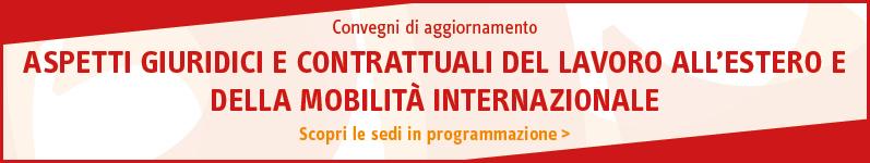 Aspetti giuridici e contrattuali del lavoro all'estero e della mobilità internazionale