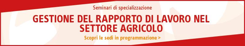 Gestione del rapporto di lavoro nel settore agricolo