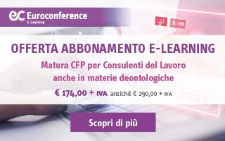 Abbonamento E-learning lavoro