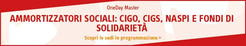 Ammortizzatori sociali: CIGO, CIGS, NASPI e Fondi di solidarietà
