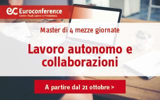 Lavoro autonomo e collaborazioni