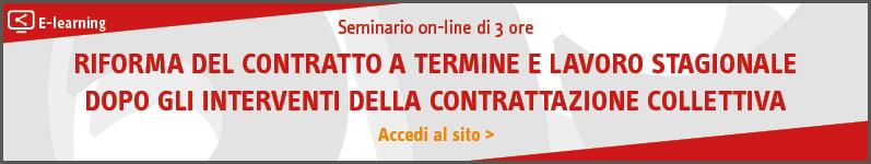 Riforma del contratto a termine e lavoro stagionale dopo gli interventi della contrattazione collettiva