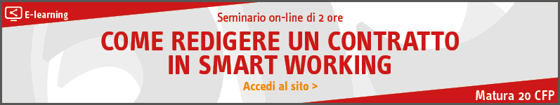 Come redigere un contratto in Smart Working – ELEARNING