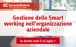 Gestione dello Smart working nell'organizzazione aziendale