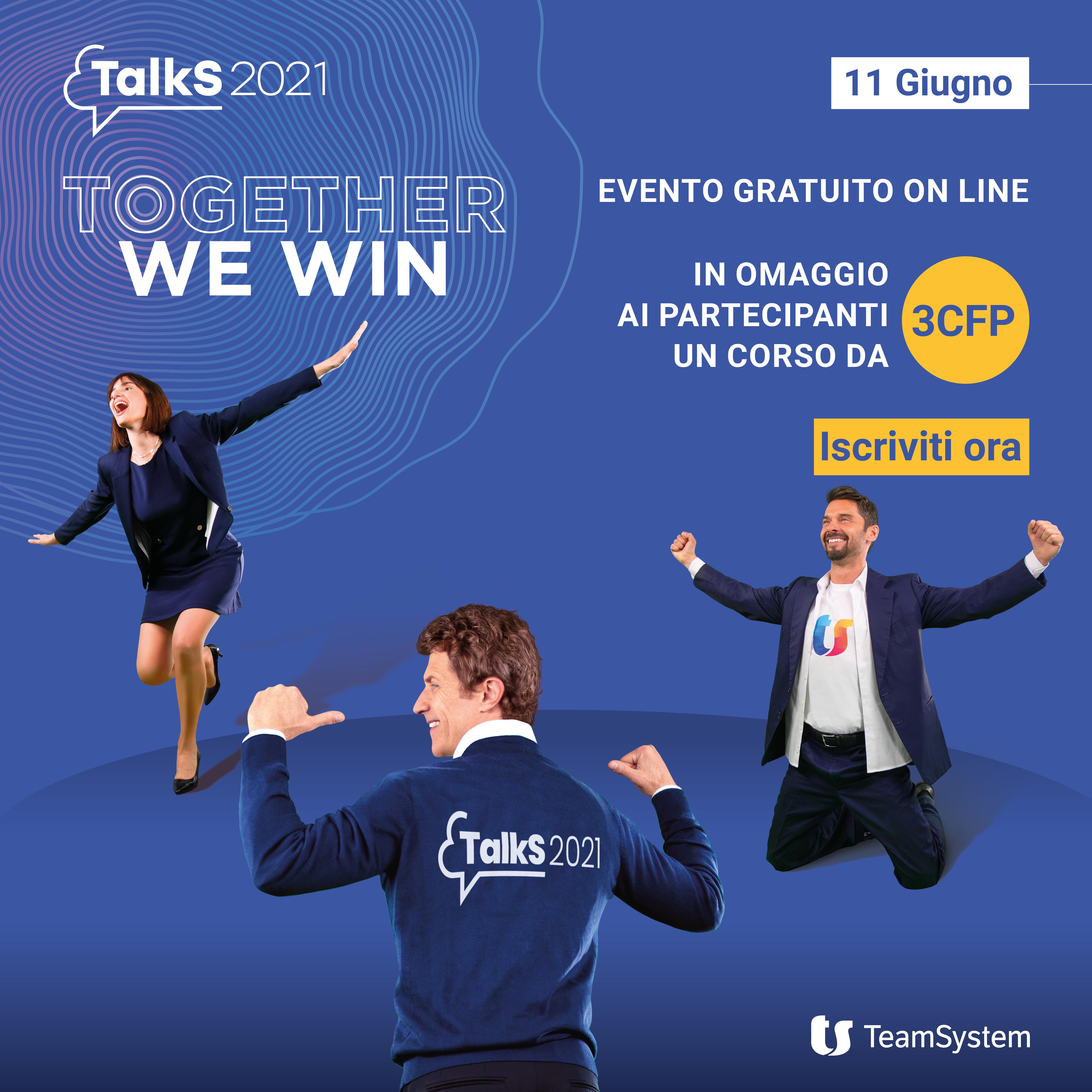 TeamSystem TalkS 2021 – pop up